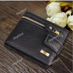 Кошелек Men's Fashion Creative Purse Leather