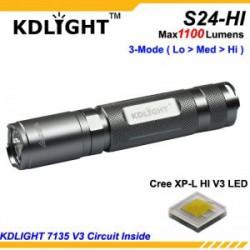 Обзор KDLIGHT S24-HI - суровый рабочий фонарь