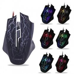 """Vodool K1022 - проводная """"игровая"""" компьютерная мышка с декоративной иллюминацией"""