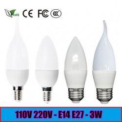 Лампочки-свечки LED Candle Light 2835SMD 3W