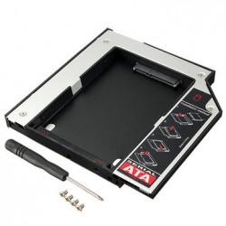 """Карман для ноутбука под 2.5"""" SSD/Sata винт (вместо привода) 12.7 мм"""