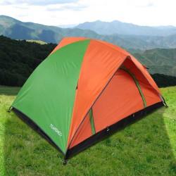 Просторная двухслойная кемпинговая палатка TOMSHOO