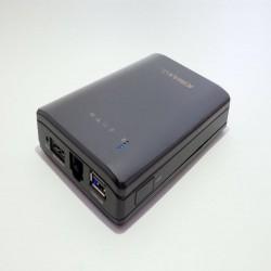 Многофункциональный комбайн Kimax BS-U25AWF - автономный двухдиапазонный роутер, контейнер для накопителей и ПБ в одном флаконе
