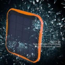 Sungzu SC002 5600mAh - павербанк/солнечная панель с высокой степень защищенности
