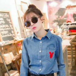 Женская блузка и коттоновая сумка - женская часть заказа с китайского магазина одежды