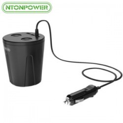 Семейная многопортовая автозарядка Ntonpower MP-3U2S