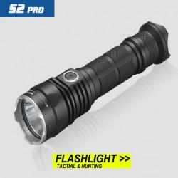 Дальнобойный фонарь Skilhunt S2 Pro - сбалансированный тактик со встроенной зарядкой