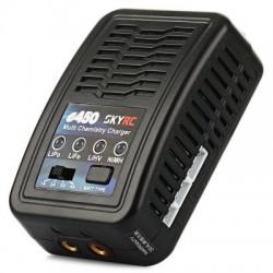 Компактное зарядно-балансировочное устройство SkyRC e450 с высоким током заряда