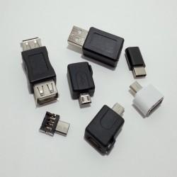 Джентльменский набор адаптеров/переходников для работы с USB портами