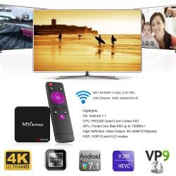 Дешевый Tv box - MX9 max (Android 7.1, RK3328, 2GB/16GB): обзор, разборка, тесты