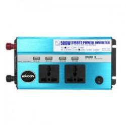 Инвертор KKmoon 500W (12V to 2*220V+4USB) или есть у меня мечта