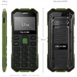 MELROSE S2 - кнопочный кредитко-телефон (9*5см и 45 грамм)