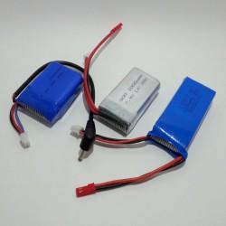 Небольшое тестирование модельных 2S (7,4V) Li-Pol аккумуляторов
