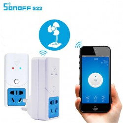 Управляемый по Wi-Fi smart-переключатель SONOFF S22 для мониторинга температуры и влажности