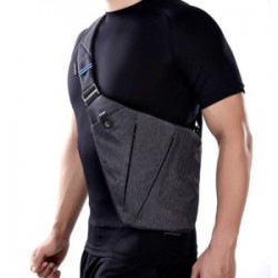 Мужская летняя сумка через плечо - идеально для зимнего скрытого ношения