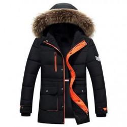 Удлиненная мужская зимняя куртка SALADANMU