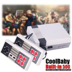 Игровая ретро приставка NES 8bit COOLBABY 500в1 с подключением через HDMI