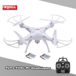 Квадрокоптер SYMA X5SC с камерой 2 МП, Headless Mode и двумя аккумуляторами.