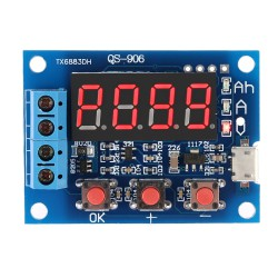 Тестер аккумуляторных батарей QS-906 (1 -15 В)