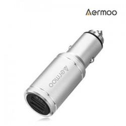 AERMOO C1 - автозарядка на 2 USB с QC 3.0 и стеклобоем