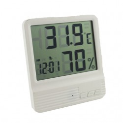 Термометр-гигрометр-часы-будильник