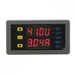 Цифровой ампервольтметр VAM9020 с дополнительными функциями подсчета времени, мощности и емкости.
