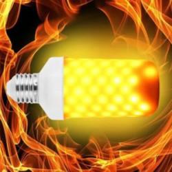 LED лампа-имитатор огня. Теплющая, но с ШИМ