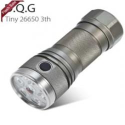 """DQG Tiny - """"крошечный"""" EDC фонарь под 26 650"""
