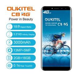 Oukitel C8 4G - обзор обновленного бюджетника с экраном 18:9