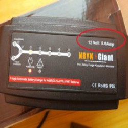 """Обзор шикарной автозарядки NRYK Giant - 7 режимов 12V 5A. Оживим """"трупа""""!"""