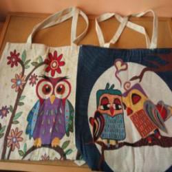 Стильные и вместительные женские эко сумки