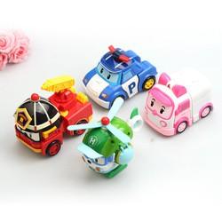 Робокар Поли и его команда (набор тематических игрушек-трансформеров)