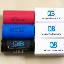 Три высокотоковых аккумулятора 20650: Sanyo NCR20650A, LG HG6 и Queen Battery QB20650