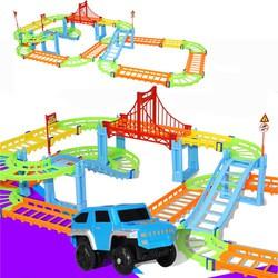 Детская игрушка-конструктор «Автотрек»