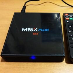 Греемся: ТВ-бокс M96X Plus, S912 + 2/16ГБ.