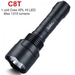 Sofirn C8T - дальнобойный фонарь на Cree XP-L HI (1310 лм). Сравним с Sofirn C8A