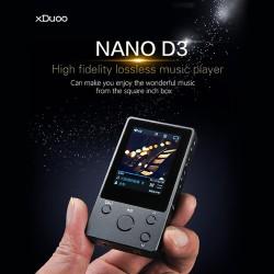 XDuoo NANO D3 - мощный HiFi аудиоплеер на RockChip RKNanoD