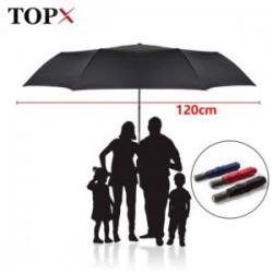 Большой автоматический зонт с Алиэкспресс (120+см купол!)