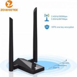 Обзор двух USB WiFi адаптеров от Zoweetek или как добавить дуалбенд беспроводного доступа