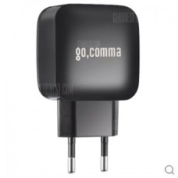 Недорогой блок зарядки Gocomma - с QC 3.0 и вплоть до 5А с юсб порта!