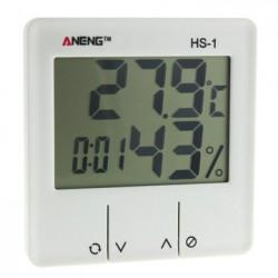 Термометр, измеритель влажности (+ часы, будильник) ANENG HS-1