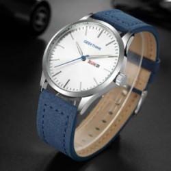 Минималистические часы от Geekthink на каждый день - трехстрелочник/дата/день недели