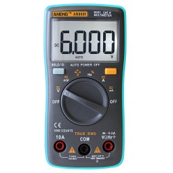 Мультиметр ANENG 8001. Совсем немного критики + обучаем измерять температуру.
