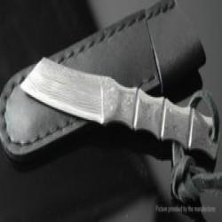 Маленький обзор маленького ножа с большими амбициями - дамаск, в стиле бамбука