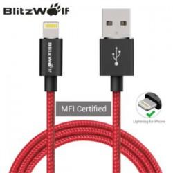 Сертифицированный кабель для iPhone BlitzWolf MFI или владельцы эппл должны СТРАДАТЬ