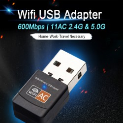 Недорогой USB Wifi адаптер для ноутбука или компьютера на RTL 8811CU с поддержкой 802.11 ac
