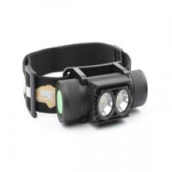Налобный фонарь под 18 650 со встроенной зарядкой S2822 (aka Boruit D25) - для тех, кому Скилхант уже дорого