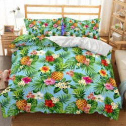 Набор постельного белья с 3д печатью размера Queen size