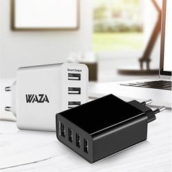 WAZA  WM2501 -  USB зарядка на 25 Вт с 4 портами