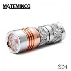 Обзор фонаря MATEMINCO S01 - редкий зверек в стальном корпусе и 4*Nichia 219C